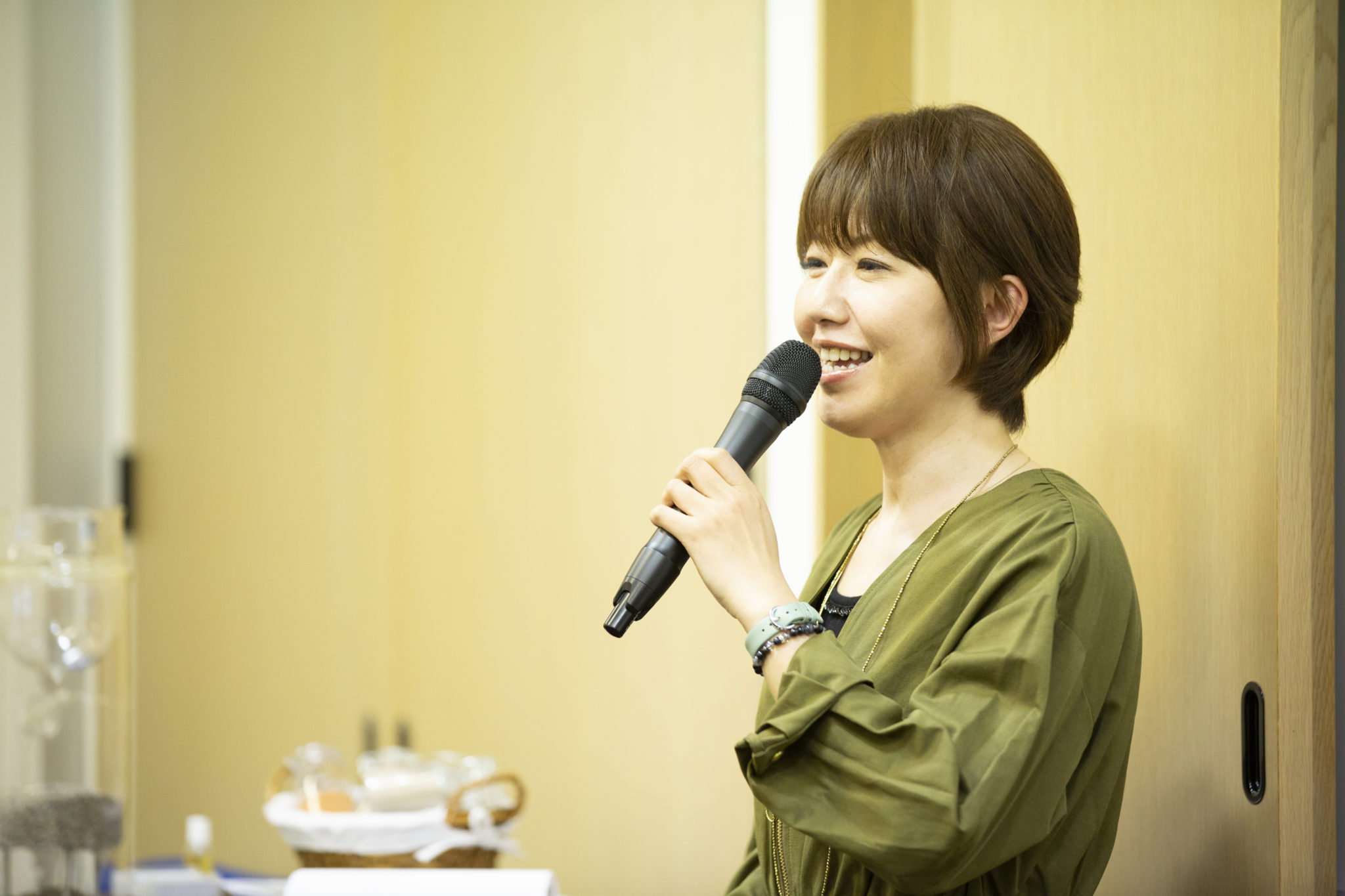クレイセラピストの鈴木佳美さん